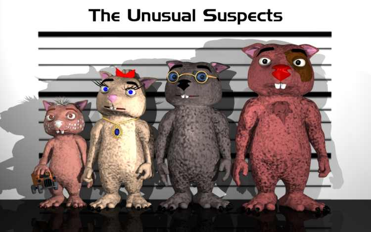 The Unusual Suspects (The Sisters Grimm, Book 2) (Bk. 2) by Michael Buckley