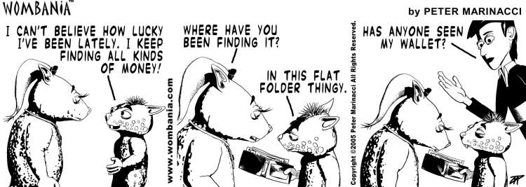 Wombania Comic Strip Sample 4