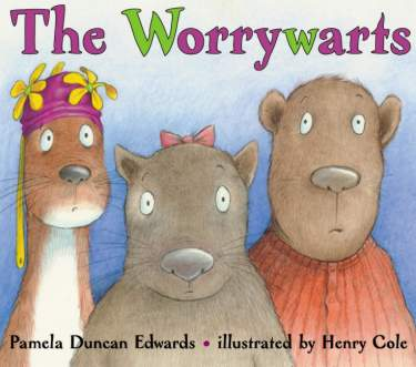 The Worrywarts Book by Pamela Duncan Edwards