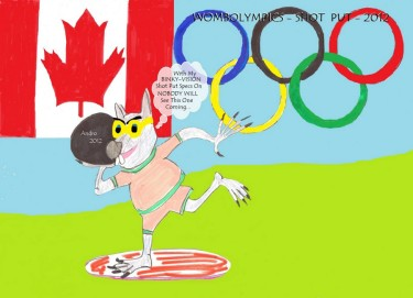 Binky In The Wombolympics by Androgoth