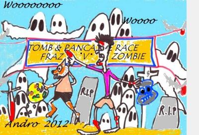 Fraz Pancake Race by Androgoth