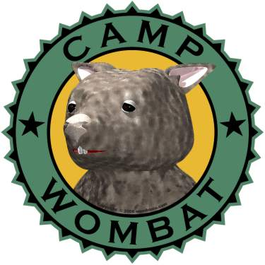 Camp Wombat Logo