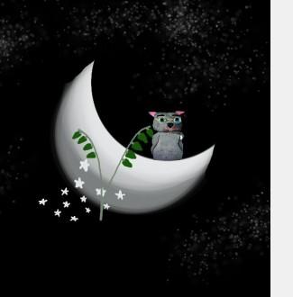 Binky on the Moon by Debbie Adams
