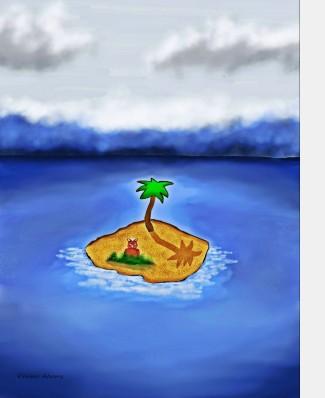 Fraz Island by Debbie Adams