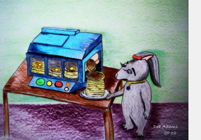 Twink's Pancake Maker by Debbie Adams