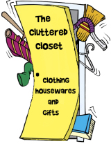 The  Cluttered Closet featuring original watercolor and pastel art based merchandise