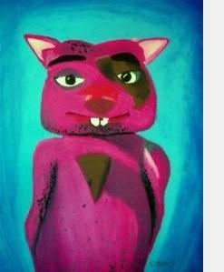 Winky's portrait by Debbie Adams