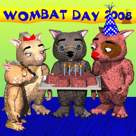 Wombat Day Celebrations 2008
