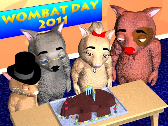 Wombat Day 2011 Party