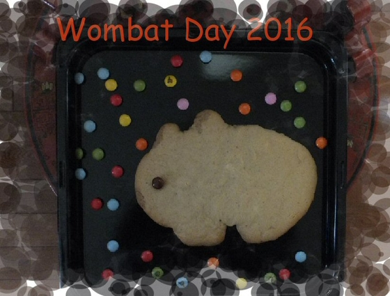 Wombat Day cake by Chieko