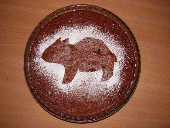 Wombat Day cake by Kukka