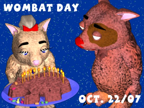 Wombat Day Party 2007