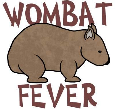 Wombat Fever Graphic