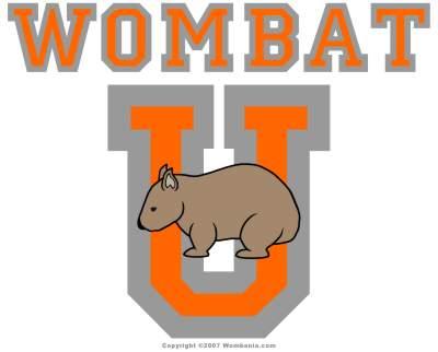 Wombat U Crest