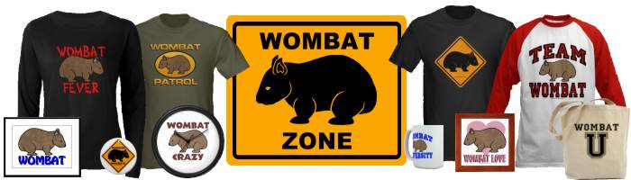 The Wombat Zone Shop