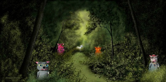 The Wombies in Debbie Adams Forrest Haven