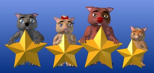 Wombie stars